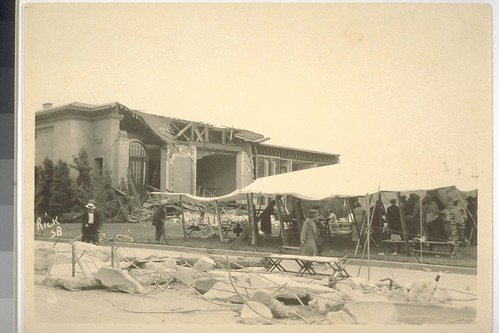 Earthquake Santa Barbara 1925 OAC 7