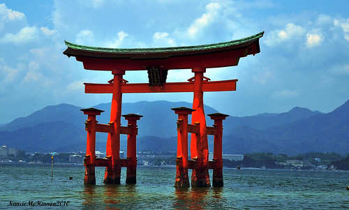 The Great Torii...Miyajima Island, Japan