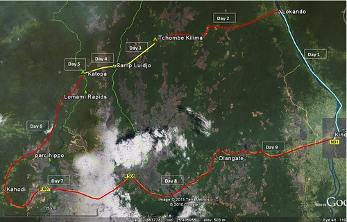 TL2 peloton route
