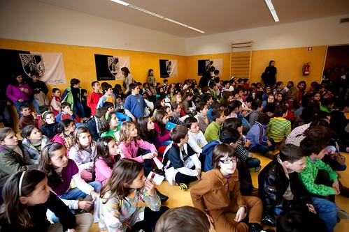 Guimarães - Visita de Jogadores ao Centro Escolar de Celorico de Basto