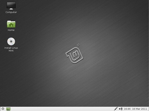 Linux Mint 10 LXDE