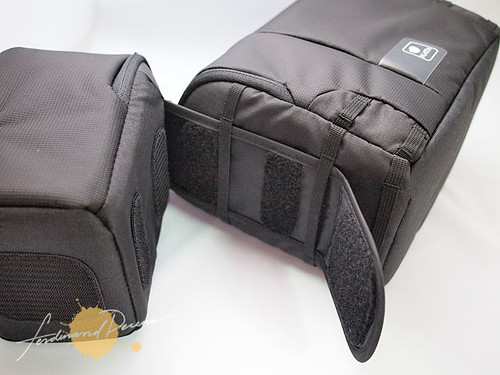 Compartments can be detached into two separate cases