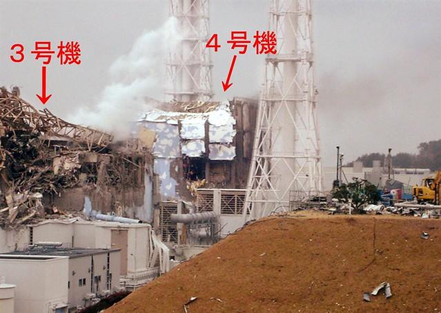 TEPCO je danes tudi izdal novo sliko 3. in 4. reaktorja