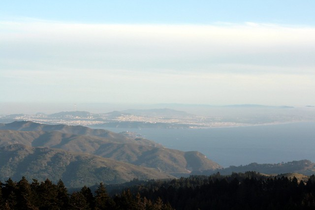 view from mt. tamalpais