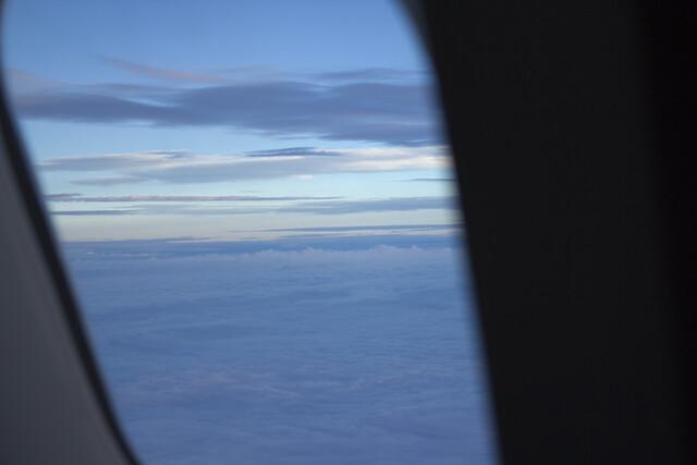 on a jetplane
