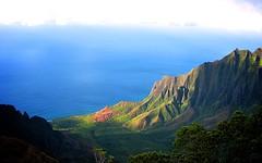 NaPali Canyon v2 (Charlie Day DaytimeStudios) Tags: ocean light mountain clouds canyon napali kauaihi