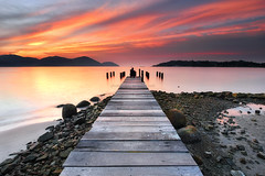 Pier To Heaven [explored] (fiz_zero) Tags: nikon nikond750 nikon1635mmf4vr sun sunset sunrise sky sea seascape seaside nature jetty pier landscape awesome wallpaper background dusk rock sand explore marinaisland lumut perak malaysia nisifilter nisind1000 nisimalaysia nisirgnd nisignd