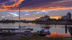 DSC_1464-HDR.jpg (Cameron Knowlton) Tags: inner harbor victoria landscape sunset water cityscape cityscapes ocean pointe dusk harbour sailboat canada bc nikon seascape d610 innerharbor innerharbour oceanpointe