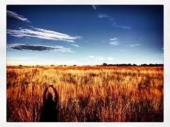 Just Breathe (Geo Dee) Tags: autumn field outside nature breathe yoga
