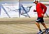 (Mark ~ JerseyStyle Photography) Tags: markkrajnak jerseystylephotography newjersey 2016 asburyparknj boardwalk fitness running mural nike addidas healthfitness sunny september2016