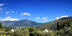 Monte Morello, 934 mt (Mattia Camellini) Tags: firenze montemorello toscana panorama natura paesaggio italia sestofiorentino mattiacamellini canoneos7d canonefs18135mmf3556is nuvole clouds explore