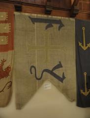 Standard of Ferdinand II of Aragon and Isabella I of Castile (michael_s_pictures) Tags: standardferdinandiiofaragonisabellaiofcastilelaspalmasgrancanariacasadecolón fernandoiidearagón ysabeli isabeli