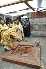 101. The Laying of the Foundation Stone of the Church of Saints Cyril and Methodius / Закладка храма святых Мефодия и Кирилла 09.10.2016