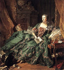 Boucher, Madame de Pompadour, 1756