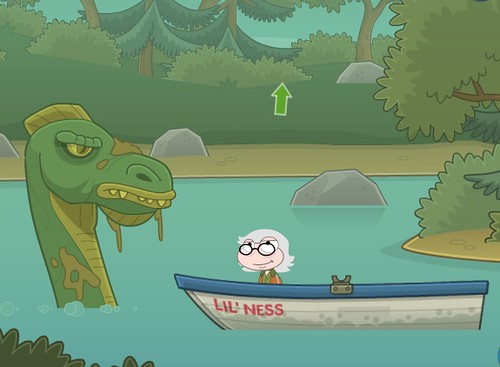 nessie appears