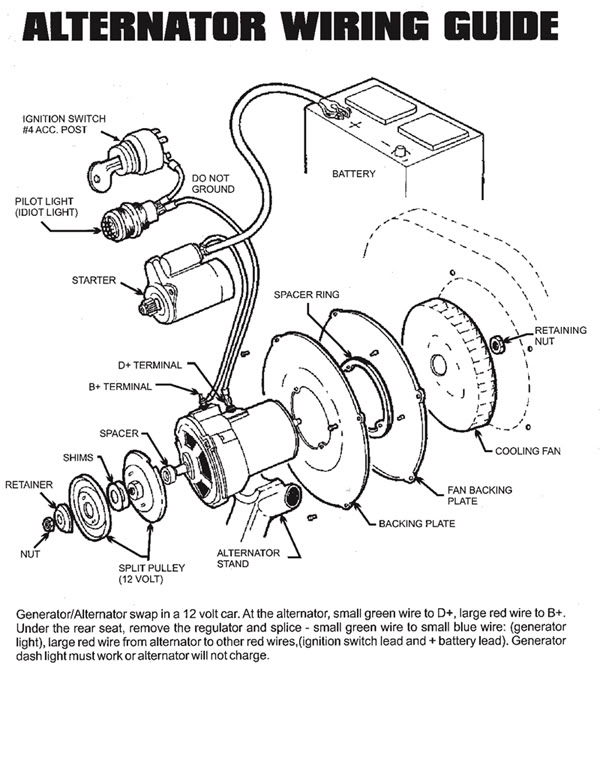 thesambacom view topic alternator wiringb or d for red wirethesamba com split bus view topic converting generator toclick image to view fullscreen