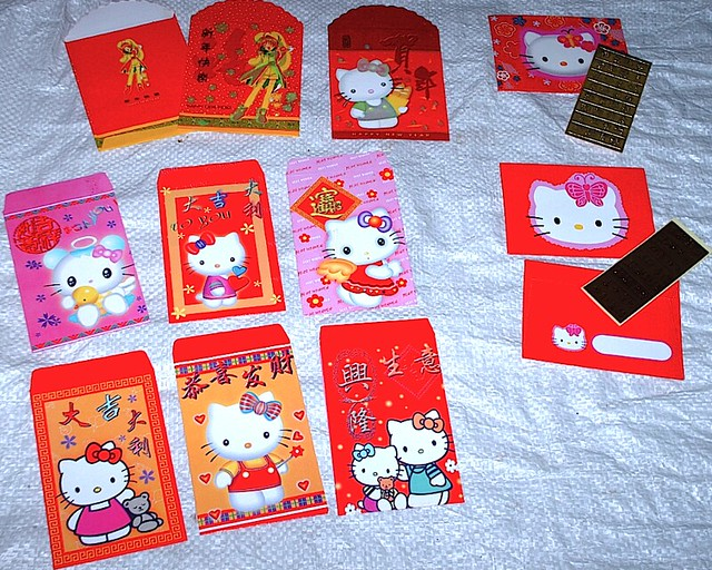 CardCaptor Sakura & Hello Kitty Chinese New Year Hong Bao