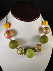 Akemi (Manue@PrettyKiku) Tags: collage asian japanese beads colorful handmade vibrant crafts jewelry felt homemade hip origamipaper beadwork decoupage jan11 feltballs myowndesign crazeecrafteez teametsyaustin