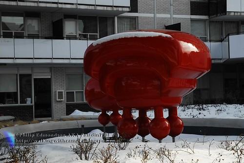 Landing Sculpture