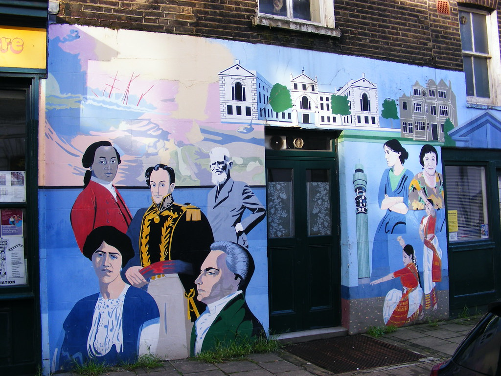 Fitzrovia Play Association Mural