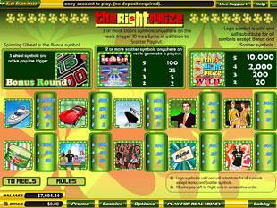 free The Right Prize slot mini symbol