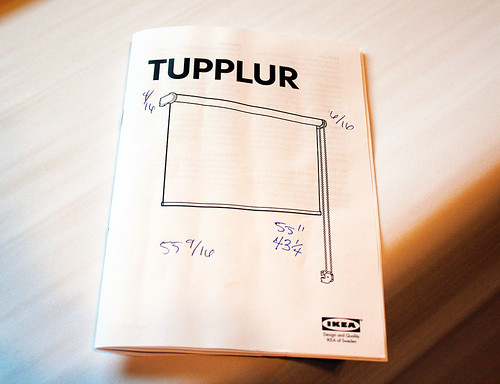 Ikea Tupplur Window Shade