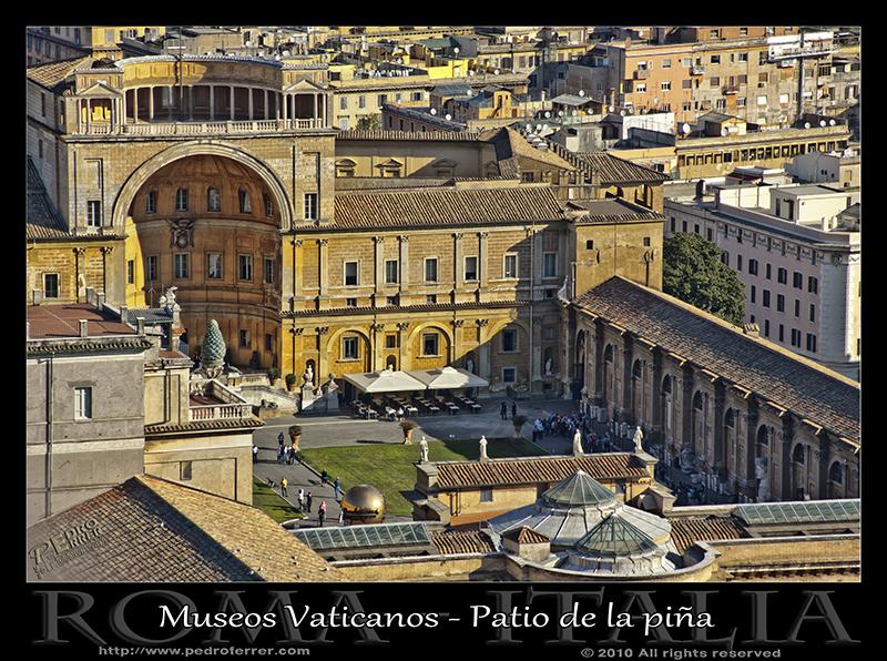 Roma - Museos Vaticanos - Patio de la piña