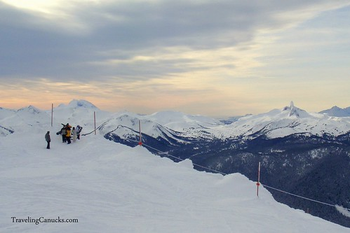 Black Tusk from Whistler Peak, British-Columbia