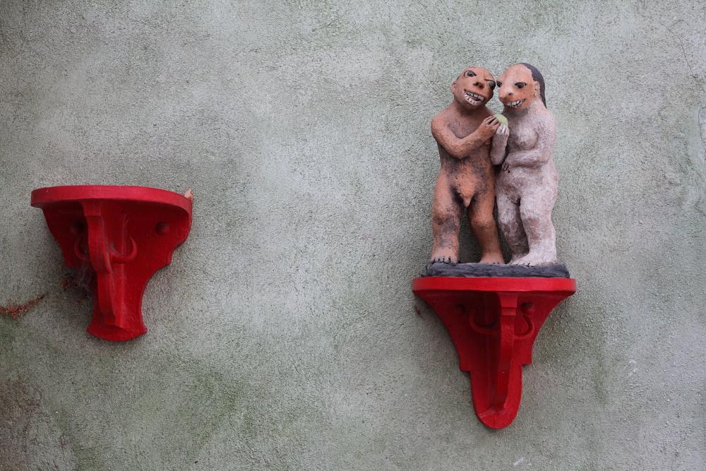 street art in Český Krumlov 15