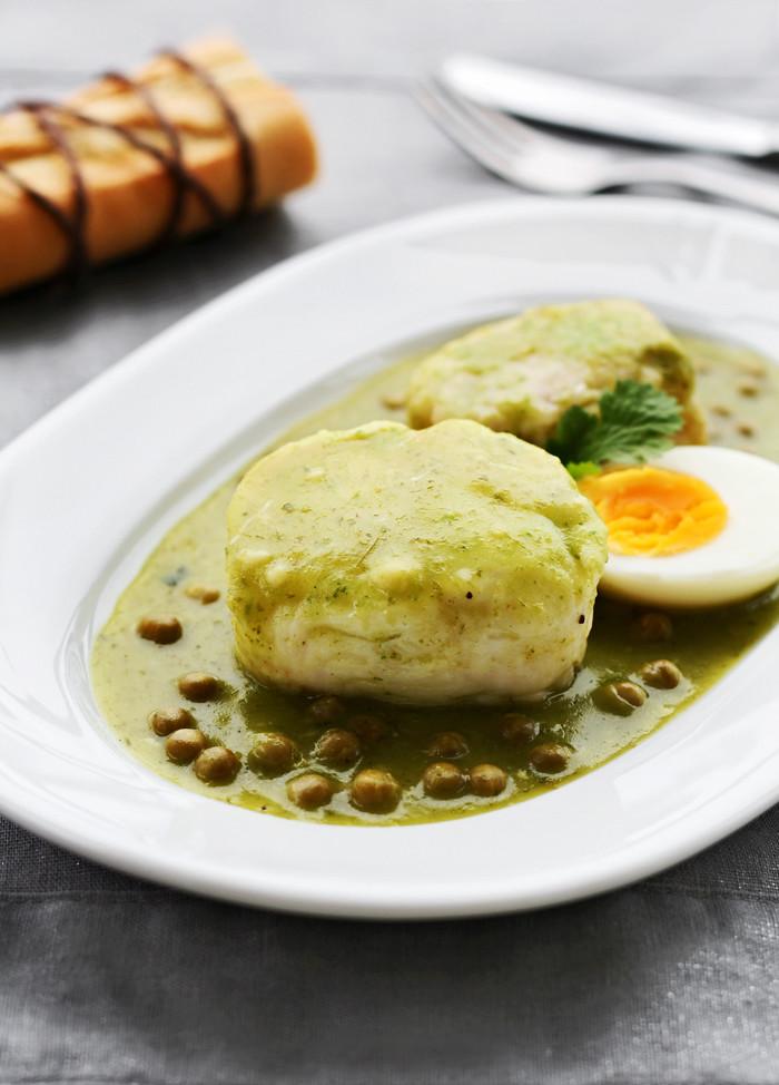 merluza en salsa verde