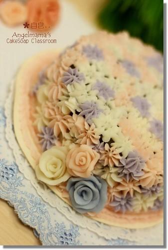 天使媽媽蛋糕皂教學自皂1