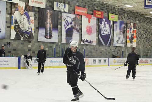 1-24-11 LA Kings Practice Skate