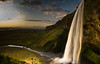 Seljalandsfoss (Explored #311 Jan 24 2011) (Kristinn R.) Tags: sky clouds waterfall iceland nikon seljalandsfoss greatphotographers nikonphotography daarklands pinnaclephotography aboveandbeyondlevel1 masterclasselite