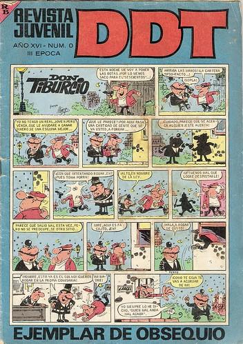 005-DDT Portada 3ª época nº 0 1967