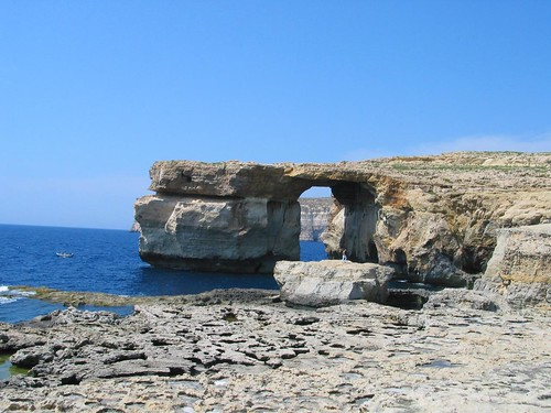 Azure Window, Gozo island, Maltese coast