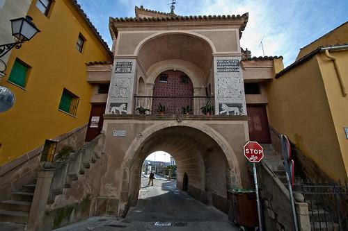 La Ermita de la Salud sobre la Puerta de Trujillo en Plasencia