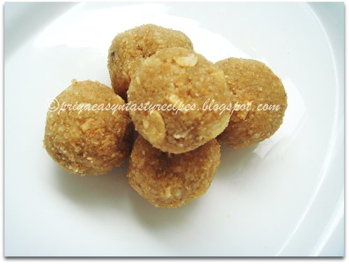 Poha & Oats Laddoo