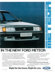 1986 Ford Meteor (South Africa) p2