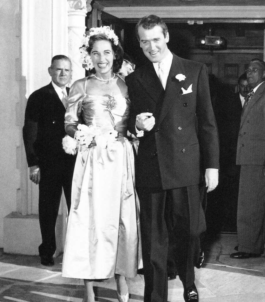 Jimmy Stewart and his wife
