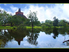 Jethawana Maha Seya (Chinthaka Sri Lanka) Tags: reflection heritage monument flood bricks civilization srilanka anuradhapura dagoba cuture anuradapura buddhisum