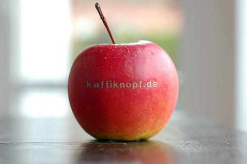 kaffiknopf mag äpfel