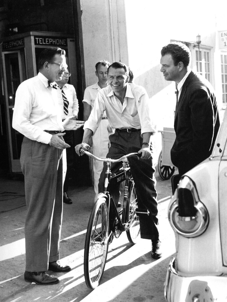 Frank Sinatra and Nelson Riddle