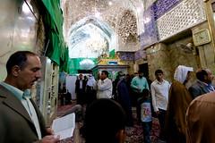 Imam Hussain A.S (Karbala) #26 (Hussain Isa) Tags: city festival horizontal shrine day mark iraq capital religion center baghdad ashura karbala pilgrimage preparation ins  assembling kilometer        shiiteislam      arbaeen
