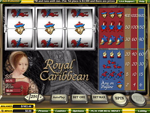 Royal Caribbean slot game online review