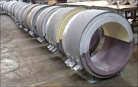Cryogenic Supports for a LNG Receiving & Regasification Plant and Refinery