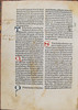 Marginal notes in Italian in Albertus Magnus [pseudo-]: Liber aggregationis