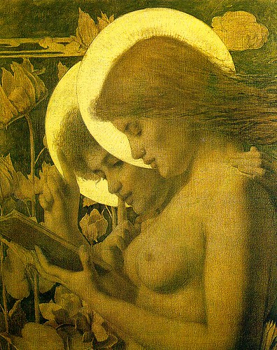 Louis_Welden_Hawkins_-_The_Haloes,_1894