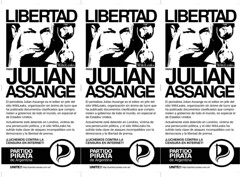 #OPERATIONPAPERSTORM - Libertad Julian Assange