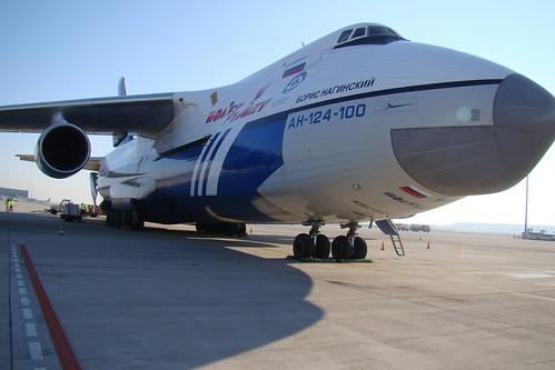 Antonov 124 en BCN