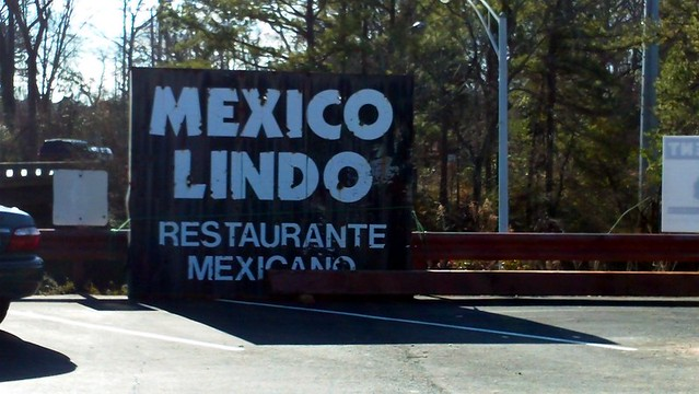 the old Mexico Lindo sign. acnatta/Flickr